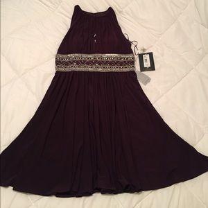 JS Boutique Nordstrom's Plum Dress